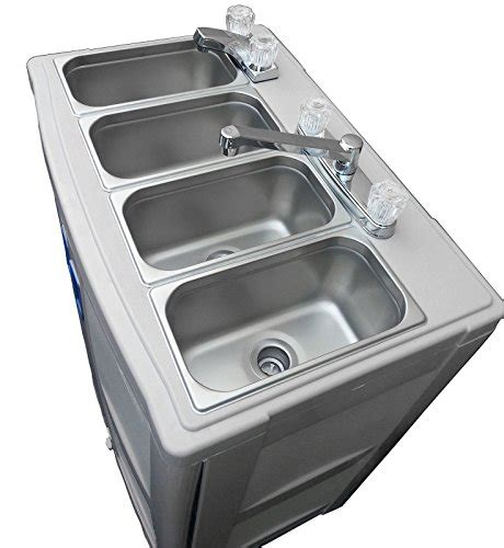 used portable 4 compartment sink portable sink with water mobile concession 4