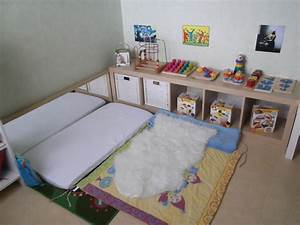 Lit Enfant 4 Ans : chambre montessori 6 ans sol pour chambre literie ~ Teatrodelosmanantiales.com Idées de Décoration