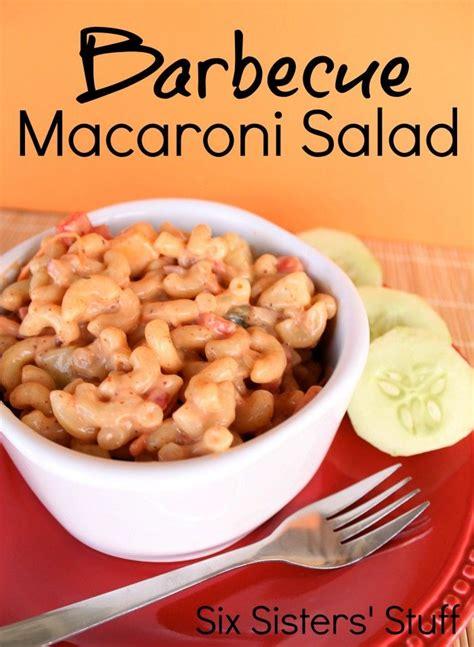 BBQ Macaroni Salad Recipe