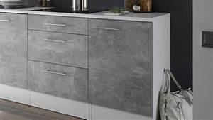 Möbel In Betonoptik : k chenblock turn k che einbauk che in betonoptik und wei matt ~ Frokenaadalensverden.com Haus und Dekorationen