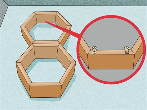How To Make Homemade Honeycomb Shelves 5 Steps With