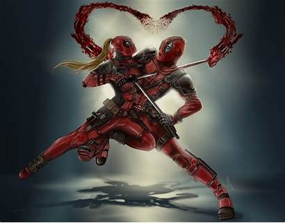 Deadpool Lady Wallpapers Dedpool 4k Cable Poster