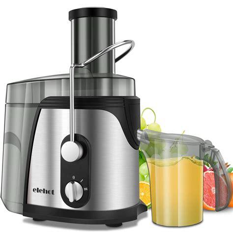 extractor juicer juice machine elehot centrifugeuse jus extracteur steel watt stainless mouth licuadoras wide frutas avis verduras licuadora 800w 75mm