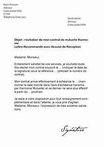 Modele Lettre Resiliation Assurance Moto Pour Vente : exemple de courrier de resiliation de contrat ~ Gottalentnigeria.com Avis de Voitures