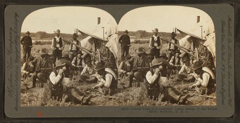 File:Dinner time at a cowboy's camp, banks of the ...