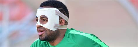 If you're looking for a direct link to download the. Jimmy Tau Pokes Fun At Khune's Mask | www.soccerladuma.co.za