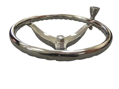 boat steering wheel knob marine boat 3 spoke ss steering wheel turning knob finger
