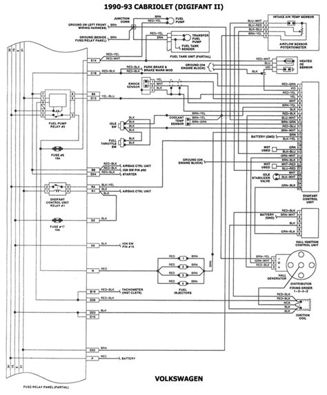 91 95 Isuzu Rodeo Radio Wiring Diagram by Vwvortex Digifant Ii Help Needed