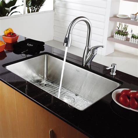 kitchen sink depths kraus khu10030kpf2121sd20 30 inch undermount single bowl 2660
