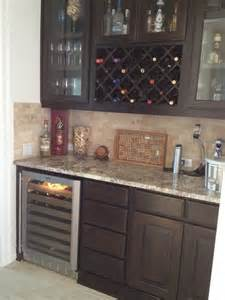 Butler's Pantry with Wine Rack