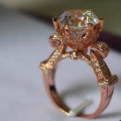 real wedding rings 5 carat gold 14k luxury big distinguished real moissanite engagement ring for