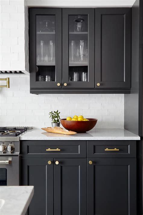charcoal kitchen cabinets gaper kitchen ideas
