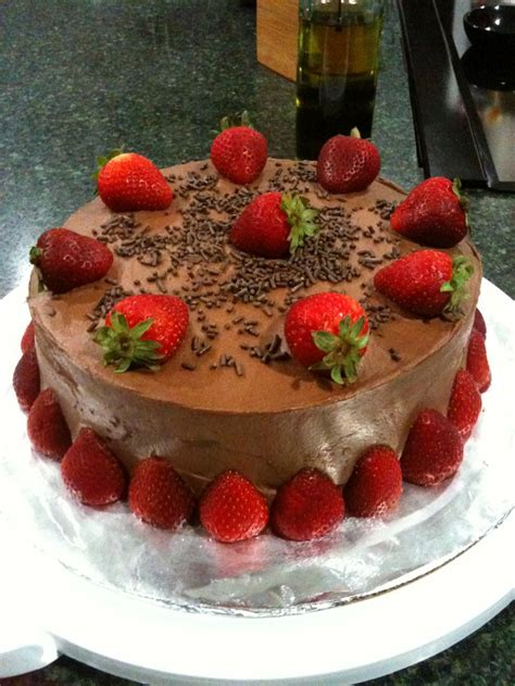 chocolate strawberry decor cake decorating cakes