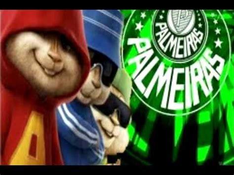 Alvin e os Esquilos Cantando Hino do Palmeiras - YouTube