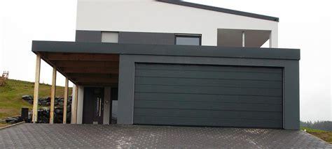 Moderne Häuser Mit Carport by Fertiggaragen Und Carports Systembox Garagen Gmbh