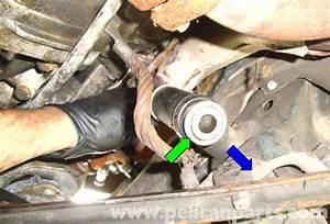 Mercedes-benz R129 Idler Arm Bushing Replacement