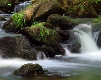 Wallpapers Mountain Stream Streams Streaming Cave Wallpapersafari