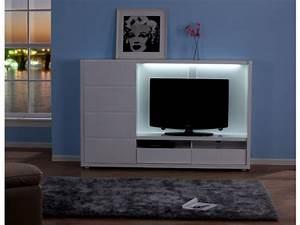 Grand Meuble De Rangement : grand meuble tv avec rangement ~ Teatrodelosmanantiales.com Idées de Décoration