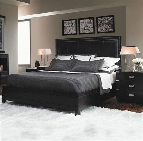 Decorating Ideas For Bedroom With Black Furniture by Black Bedroom Furniture With Gray Walls Black Bedroom