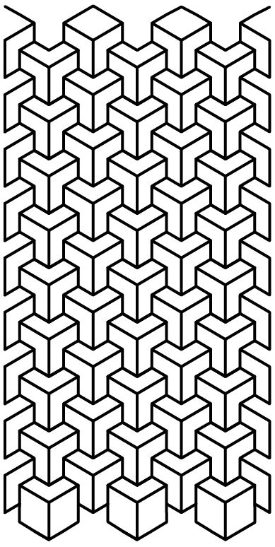 Parttern Cube | Mandala geométrica, Tatuagens de pontos
