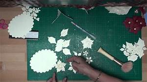 how to make a poinsettia flower out of paper spellbinders poinsettia flowers card making magic com