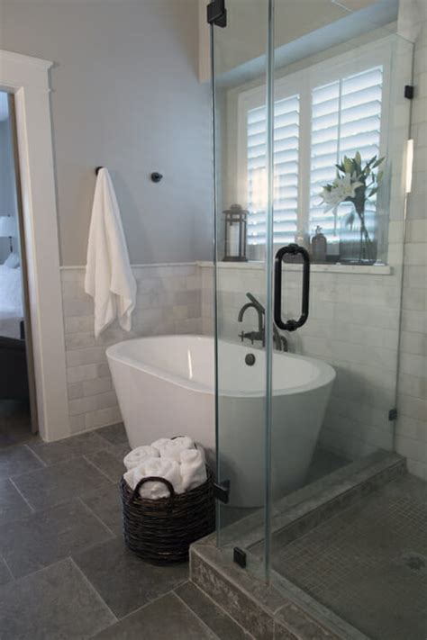 Small Spa Bathrooms by How To Make A Small Master Bath Spa Like Modernize