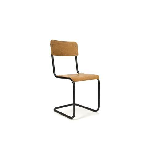 buisframe stoel buisframe stoel met blank hout