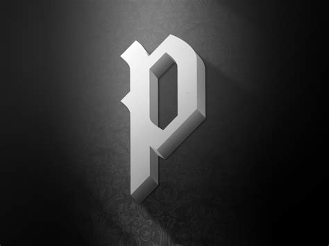 cool letter p the letter p by tom philibeck dribbble 20962 | letter p lighting