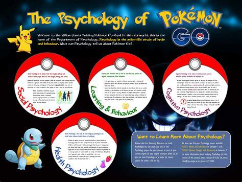 The Psychology Of Pokemon Go!  Psychology Outreach