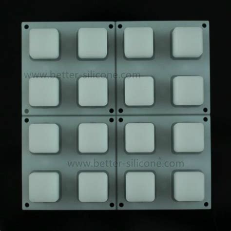 elastomer  buttons transparent silicone keyboard