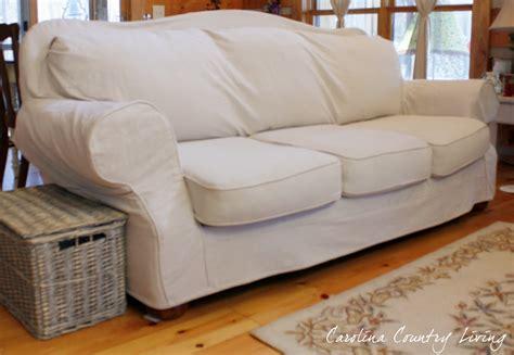 best fabric for sofa slipcovers carolina country living drop cloth sofa slipcover