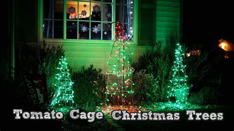 diy christmas decorations tomato cage christmas tree