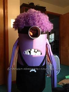 Coolest Homemade Purple Evil Minion Costume from ...