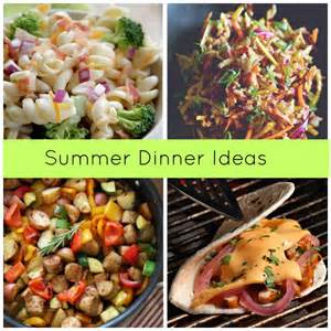 recipe suggestions five summer dinner recipe ideas ftm