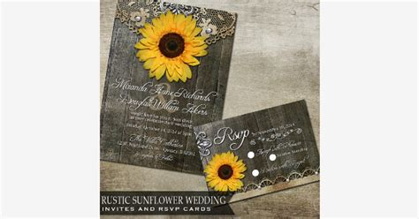 Found on Bing from catchmyparty com Rustic sunflower
