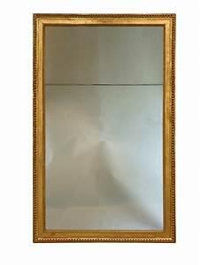 Miroir Doré Rectangulaire : grand miroir en bois dor d 39 poque louis xvi xviiie si cle ~ Teatrodelosmanantiales.com Idées de Décoration
