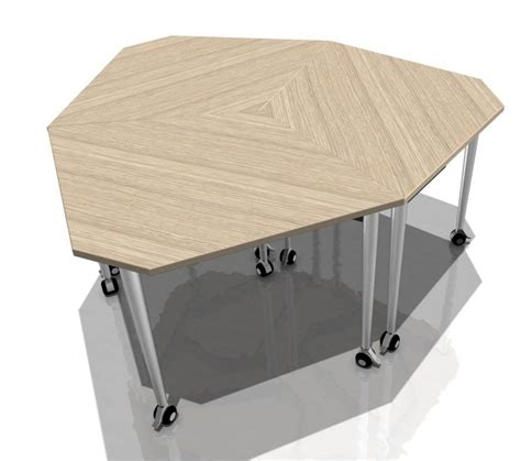 conference table desk combination kite mobile conference tables combination 1 office reality