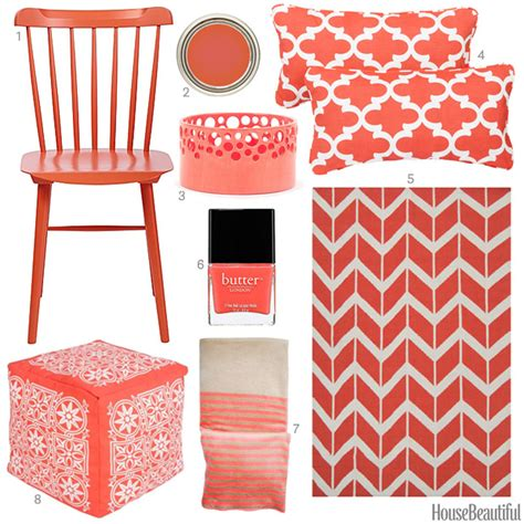 coral colored decorative accents coral accessories coral home decor