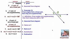 30 In Which Diagram Do Angles 1 And 2 Form A Linear Pair
