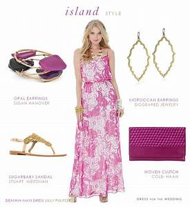 dress for a tropical island wedding guest With island wedding guest dresses