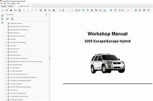 2004 Ford Escape Repair Manual
