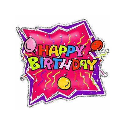 Birthday Animated Greeting Card Glitter Cards Graphics