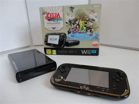 Wii U Console 32gb Premium Zelda Limited Edition Cradle