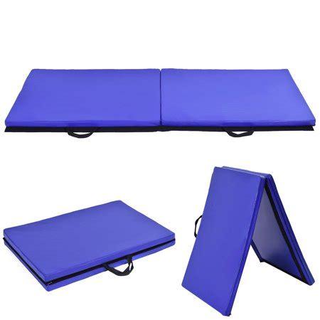 walmart exercise mat costway 6 x 2 gymnastics mat thick two folding panel