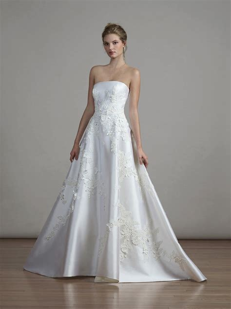 Liancarlo Silk Ball Gown Wedding Dress Spring 2018 Brides
