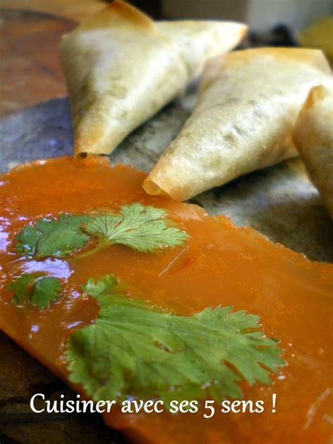 samossas de l 233 gumes sur gel 233 e de carottes cuisiner avec ses 5 sens