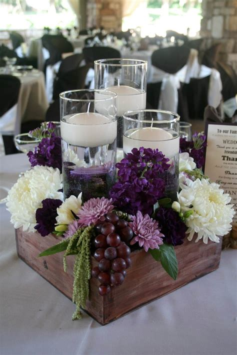 rustic wooden box centerpiece ideas  designs