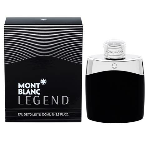montblanc legend eau de toilette fragrances compared