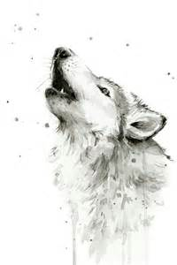 Wolf Shower Curtain Picture