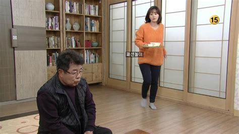 패션놀이~♬♪ 최정윤 오렌지색니트 힘내요미스터김71회